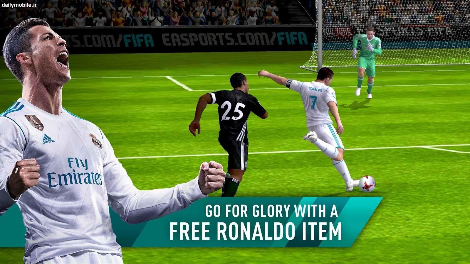 دانلود بازی فوق العاده فوتبال فیفا برای اندروید FIFA Football