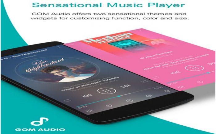 دانلود برترین موزیک پلیر اندروید GOM Audio Plus - Music, Sync lyrics, Streaming