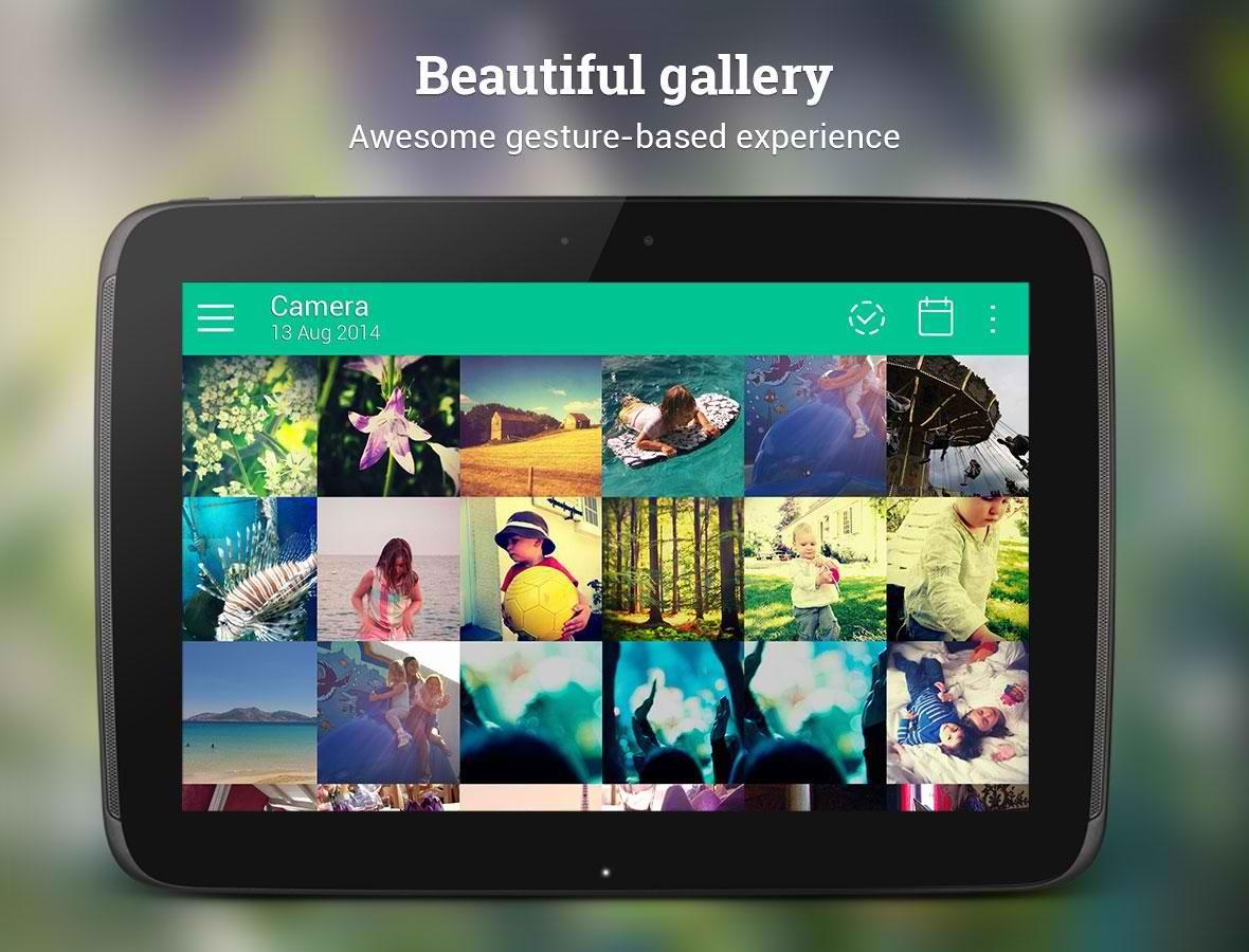 دانلود نرم افزار گالری پیشرفته برای اندروید Piktures - Beautiful Gallery