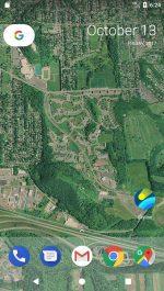برنامه تصویر پس زمینه اندروید Skyline - Live Wallpaper With Global 3D Terrain