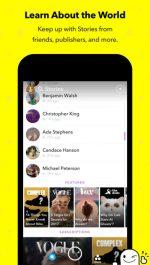 دانلود برنامه اسنپ چت برای آیفون Snapchat iOS APP