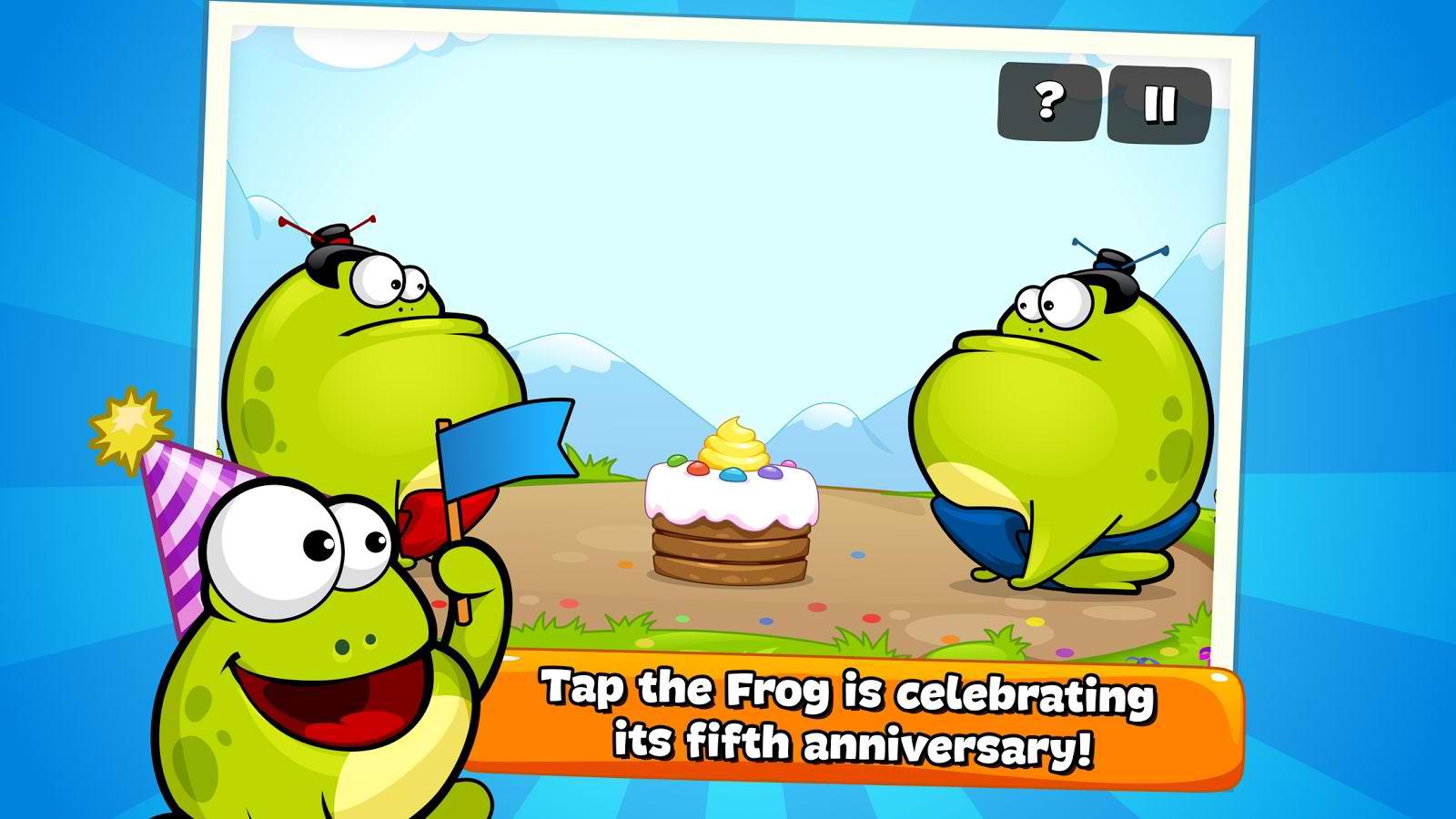 دانلود بازی قورباغه برای اندروید Tap the Frog HD