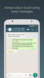 دانلود برنامه برنامه واتساپ بیزینس اندروید WhatsApp Business