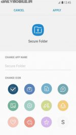 دانلود برنامه پوشه امن سامسونگ اندروید Secure Folder
