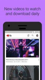 دانلود نسخه کم حجم یوتیوب اندروید YouTube Go