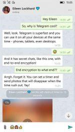 دانلود برنامه یونی گرام ویندوزفون و ویندوز 10 تلگرام غیر رسمی Unigram