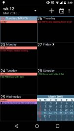 دانلود تقويم به همراه تقويم ايران و تمام مناسبت ها aCalendar+ Calendar & Tasks
