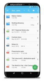 فایل منیجر قدرتمند و حرفه ای اندروید GiGa File Manager - File Explorer Premium