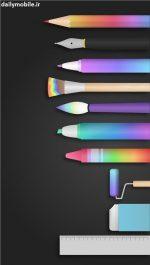 دانلود بهترین برنامه نقاشی اندروید PaperDraw:Paint Draw Sketchbook