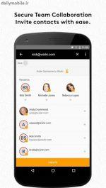 دانلود مسنجر امن و محبوب ویکر می اندروید Wickr Me – Private Messenger