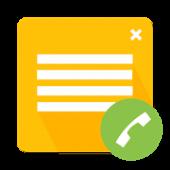 دانلود برنامه اندروید اضافه کردن یادداشت به تماس ها Call Notes Pro
