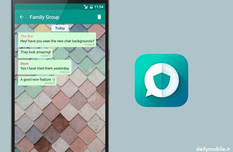 دانلود برنامه اندروید خواندن خصوصی پیام های واتساپ Private Read for WhatsApp