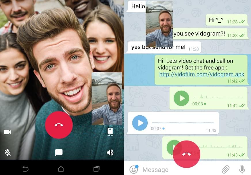 دانلود نسخه جدید برنامه ویدیوگرام برای اندروید Vidogram android