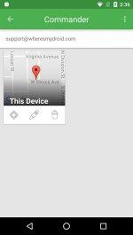 دانلود برنامه Wheres My Droid پیدا کردن گوشی گم شده و دزدیده شده اندروید