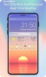 دانلود لانچر اختصاصی آیفون ایکس اندروید X Launcher Prime:Phone X Theme