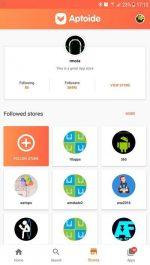 دانلود نسخه جدید مارکت آپتیود Aptoide اندروید
