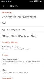دانلود بهترین نسخه مود واتساپ اندروید RBWhatsApp Xtreme