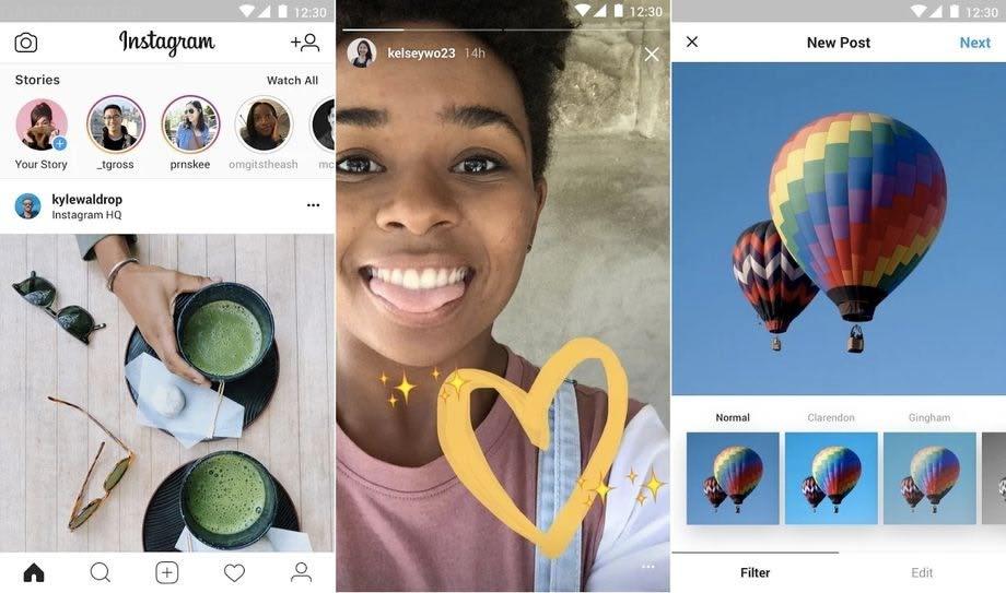 دانلود نسخه جدید Instagram Lite اینستاگرام لایت اندروید