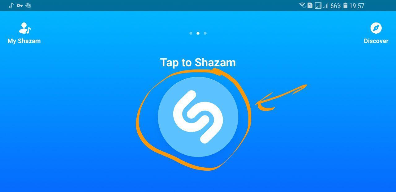 آموزش استفاده از اپلیکیشن شناسایی آهنگ در حال پخش Shazam