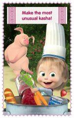 دانلود بازی پخش غذا ماشا Masha and Bear Cooking Dash اندروید