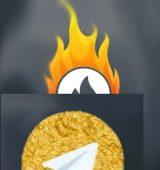آموزش حذف اکانت هاتگرام و تلگرام طلایی به صورت تصویری