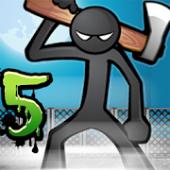 دانلود بازی Anger of Stick 5 خشتم استیک 5 برای اندروید
