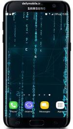 دانلود تصویر پس زمینه زنده سه بعدی Digital Rain 3D Live Wallpaper اندروید