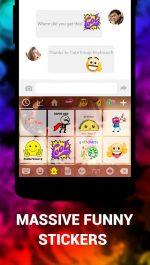 دانلود بهترین کیبورد شکلک دار اندروید Emoji Keyboard Cute Emoticons