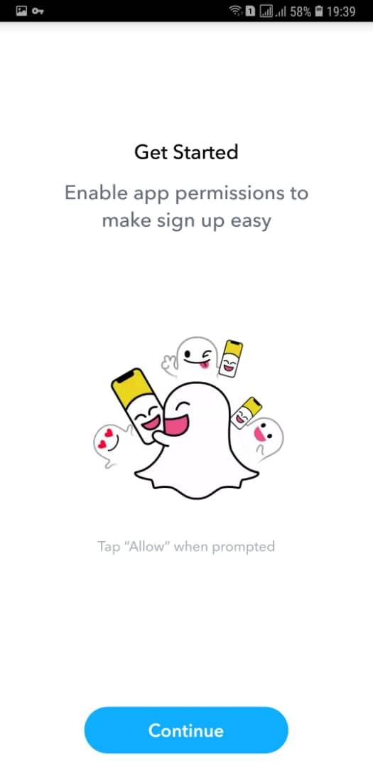 آموزش ثبت نام در برنامه اسنپ چت Snapchat بدون خطا