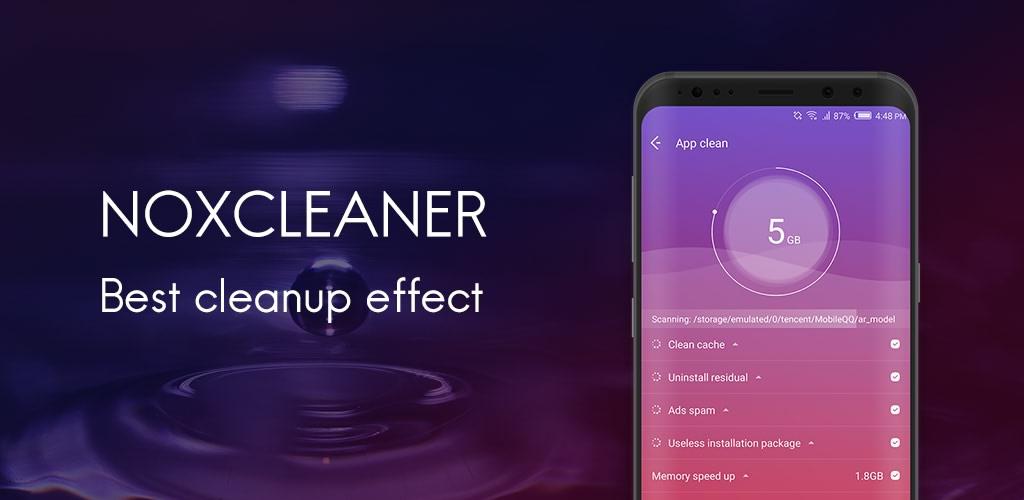دانلود برنامه NoxCleaner بهینه ساز و افزایش سرعت دستگاه های اندروید