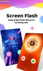 دانلود برنامه Color Phone Flash – Call Screen Theme تم صفحه تماس اندروید