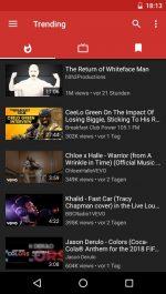 دانلود برنامه نسخه کم حجم یوتیوب NewPipe (Lightweight YouTube) اندروید