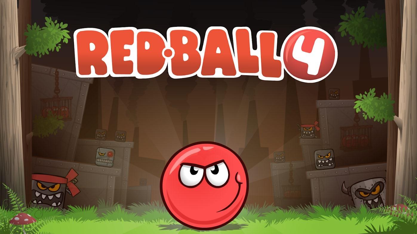 دانلود بازی Red Ball 4 توپ قرمز 4 برای اندروید