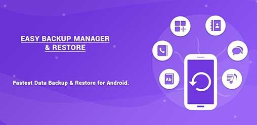 دانلود برنامه Easy Backup Manager & Restore PRO باز گردانی و مدیریت بکاپ اندروید
