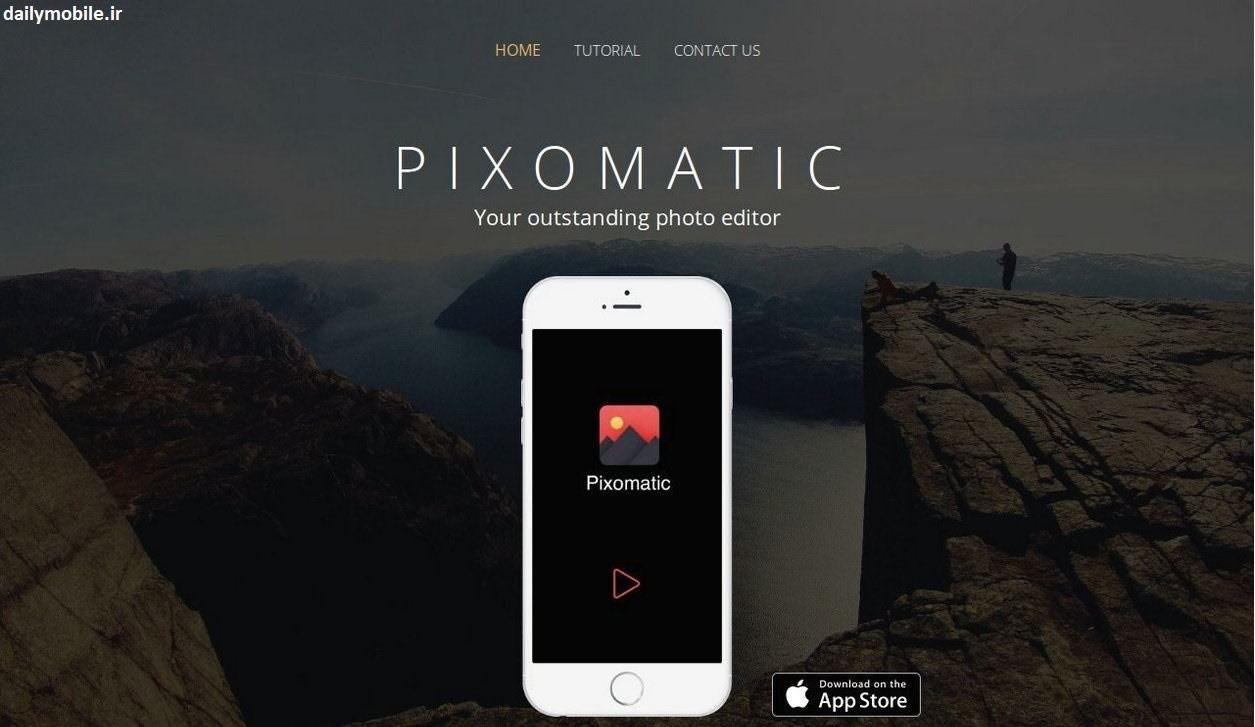 دانلود Pixomatic photo editor برنامه حرفه ای ویرایش عکس اندروید