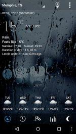 دانلود Sense Flip Clock & Weather Pro برنامه هواشناسی و ساعت اندروید