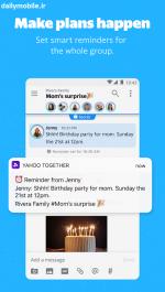 دانلود مسنجر جدید Yahoo Together پیام رسان گروهی یاهو برای اندروید