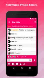 دانلود برنامه چت خصوصی و امن ChatAdda برای اندروید