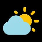 دانلود برنامه هواشناسی ساده اندروید Simple weather & clock widget No ads