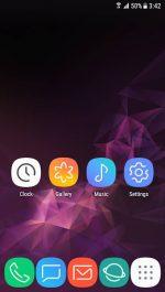 دانلود تم گالکسی اس 9 برای اندروید Theme - Galaxy S9 pro