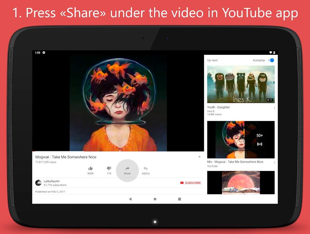 دانلود برنامه اندروید تصاویر فیلم های یوتیوب Thumbnail Downloader for YouTube