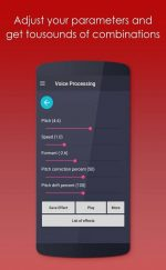 دانلود بهترین برنامه تغییر صدا برای اندروید Pro Voice Changer