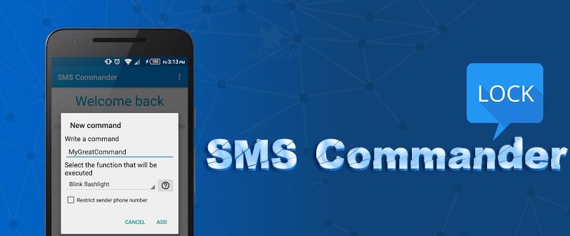 دانلود نرم افزار قفل و مدیریت اندروید از راه دور SMS Commander