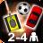 دانلود بازی جدید چند نفره برای اندروید Action for 2-4 Players