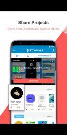 دانلود اپلیکیشن ساخت برنامه اندروید با گوشی Sketchware Premium