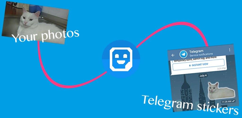 دانلود برنامه ساخت استیکر از عکس های شخصی برای اندروید Stickers Creator Pro Paid