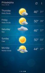 دانلود برنامه هواشناسی دقیق و حرفه ای اندروید Weather Premium