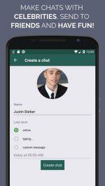 دانلود اپلیکیشن اندروید چت ساز تقلبی واتساپ WhatsFake Pretend Fake Chats