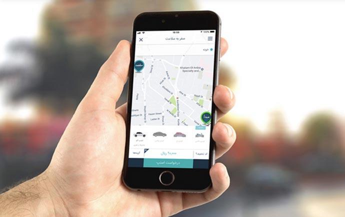 دانلود برنامه آیفون اسنپ درخواست خودرو با موبایل Snapp iOS