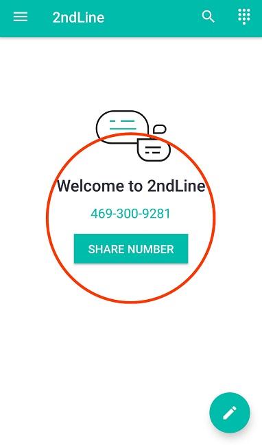 آموزش تصویری ساخت شماره مجازی آمریکا با برنامه 2ndLine